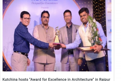 Kutchina-hosts-Award-for-Excellence-in-Architecture-in-Raipur-City