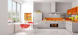 Kutchina Kitchen Appliances Chimney Modular Kitchen