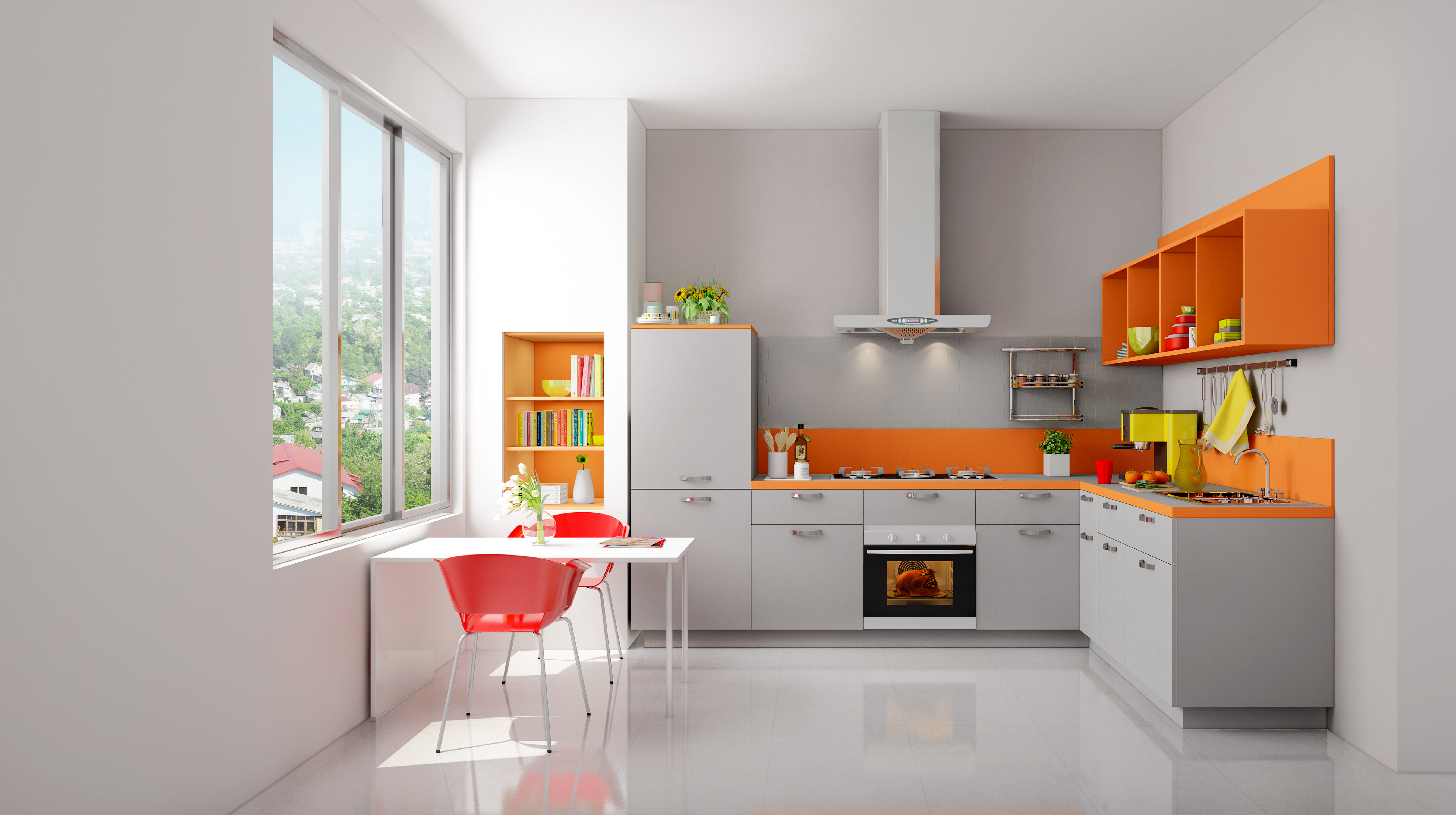 How To Turn Your Kitchen Into a Comfortable Space? - Kutchina