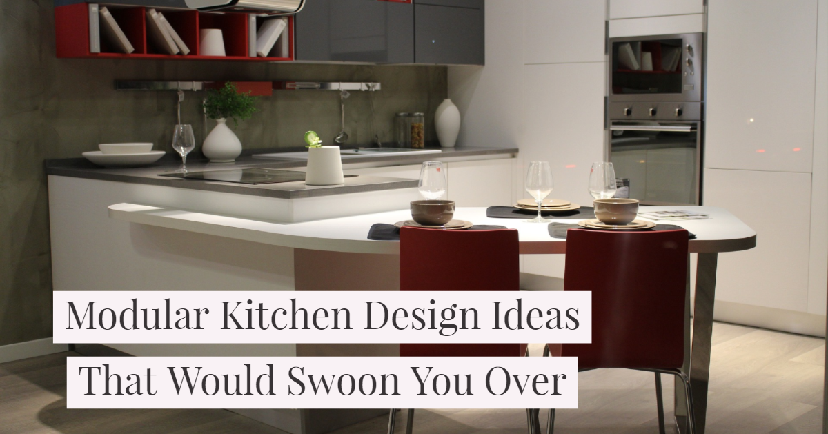 Modular Kitchen Design Ideas That Would Swoon You Over Kutchina Solutions
