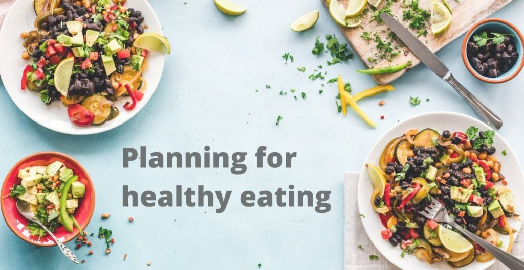 Planning for healthy eating