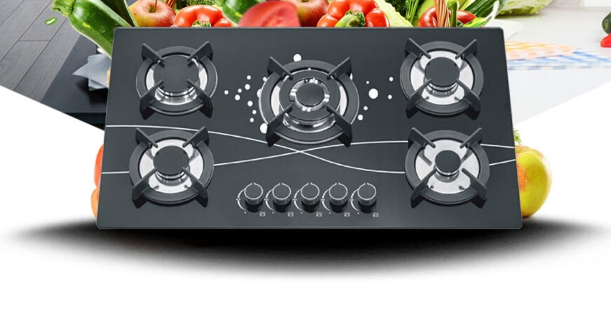 High levels of safety gas hob
