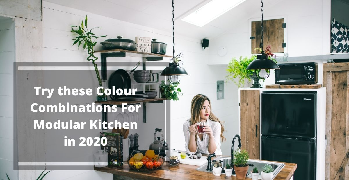 Try These Colour Combinations For Modular Kitchen In 2020 Kutchina Solutions
