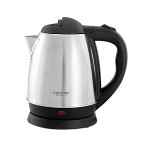 milk boiling in the electric kettle