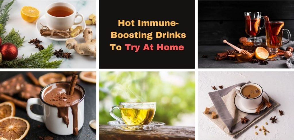 Hot Immune-Boosting Drinks To Try At Home