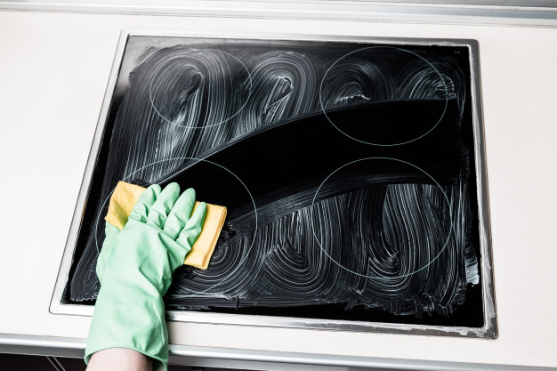 induction cooker cleaning
